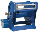 electric powered hose reel