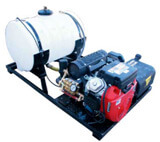 puck up mount pressure washers
