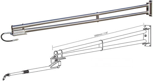 Extension for Ceiling Boom
