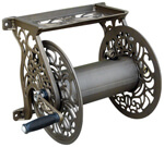 decorative wall mount garden reel the decorative wall mounted hose
