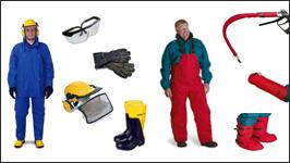 Water Blaster Safety Equipment