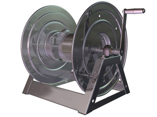 Hand Crank Stainless Hose Reel  sc 1 st  Ultimate Washer & Heavy Duty Hose Reels