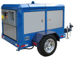Diesel Powered Water Blasting Unit