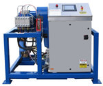 Stationary Electric Powered Water Blasting Unit