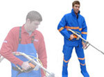Water Blaster Protective Clothing