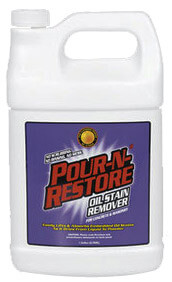Oil stain remover for Motor oil stain removal from concrete