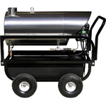 Pressure Washer HotBox Series 115V Diesel Stationary Horizontal