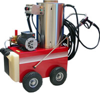 All Electric Steam Power Washer