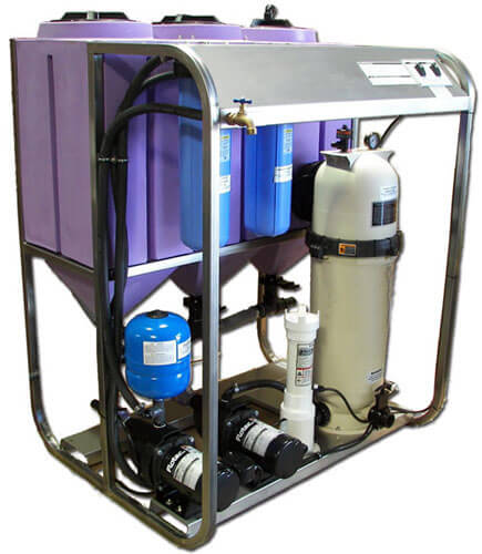 wash water filtration systems