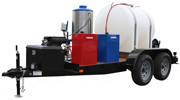 P5400GHEST Trailer Power Washers