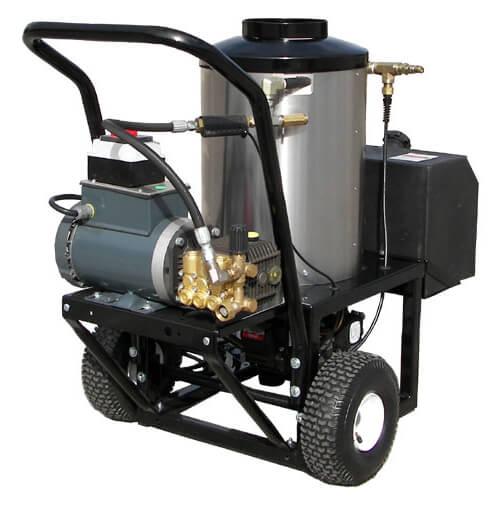 Electric Motor Diesel Burner Hot Water Power Washers