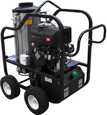 diesel hot pressure washer