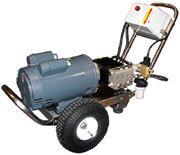 Stainless Steel Pressure Washer