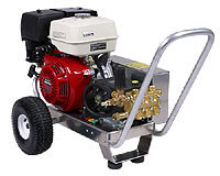 belt-drive power washer