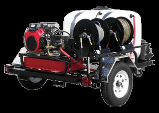 Trailer Pressure Power Washers