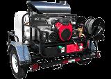 Hot Diesel Trailer Pressure Washers