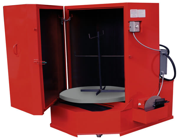 Industrial Parts Washers Front Load Conveyor