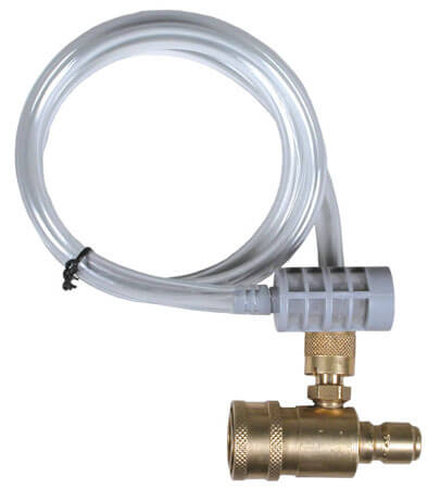 Low Pressure Chemical Injector for Industrial Pressure Washers