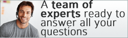A team of experts ready to answer all your questions