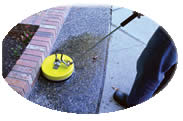 concrete cleaner attachment