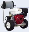 Pressure Washer with Hose Reel Kit