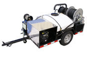 Trailer Sewer Jetter 4000 PSI