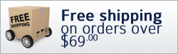 Free shipping on orders over $69