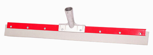 Haviland 2130 EPDM Rubber Non-Marking Heavy Duty Floor Squeegee 30 Length Red