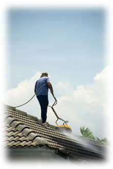 Cleaning Tile Roof