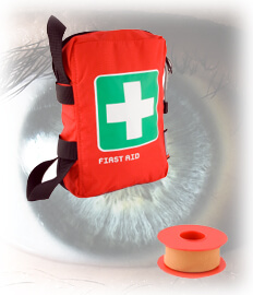 First Aid Eye, Emergency Eye Wash