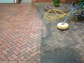 Cleaning Concrete Driveway