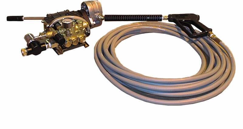 hydraulic pressurewashing system