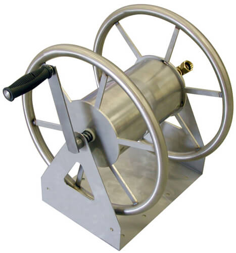 Attrayant Stainless Steel Garden Hose Reel