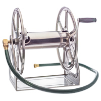 3-in-1 Stainless Water Hose Reel