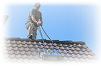 easy roof cleaning