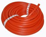orange ribbed chemical sprayer hose