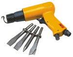 Air Hammer with 4 Chisels