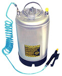 Stainless Steel Tank with Sprayers