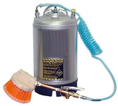 Stainless Steel Tank with Tire Dressing Applicator