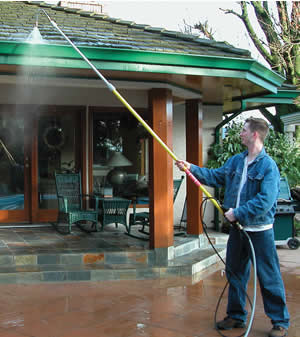 Window Washing Accessories YIYUAN Gutter Cleaning Tool Pressure Washer 4000 Psi 5 Tips Roof Cleaner Lance Nozzle Power Washer Extension Wands