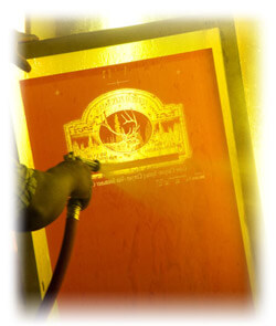 Screen Printing Cleaning
