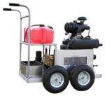 gas powered pressure washer