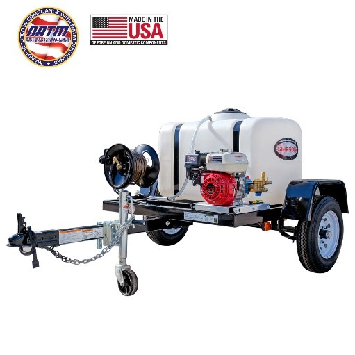 Simpson 95000 Trailer Pressure Washers
