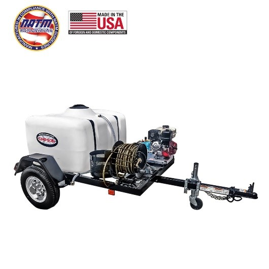 Simpson 95001 Trailer Pressure Washers