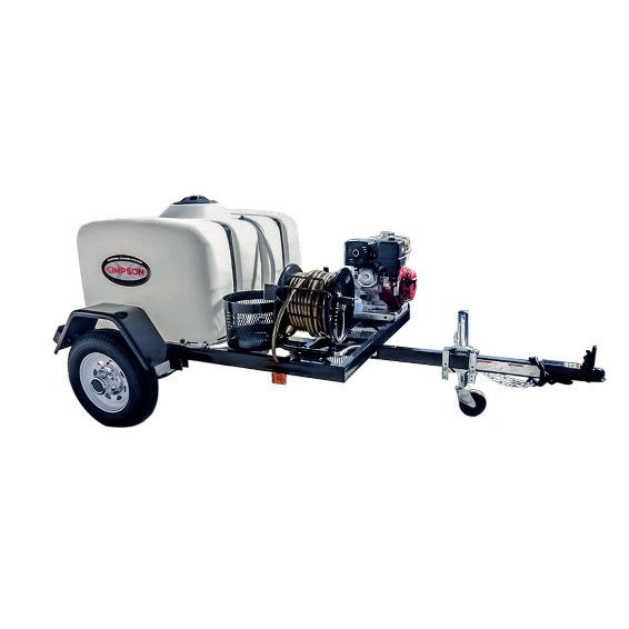 Simpson 95002 95003 Trailer Pressure Washers