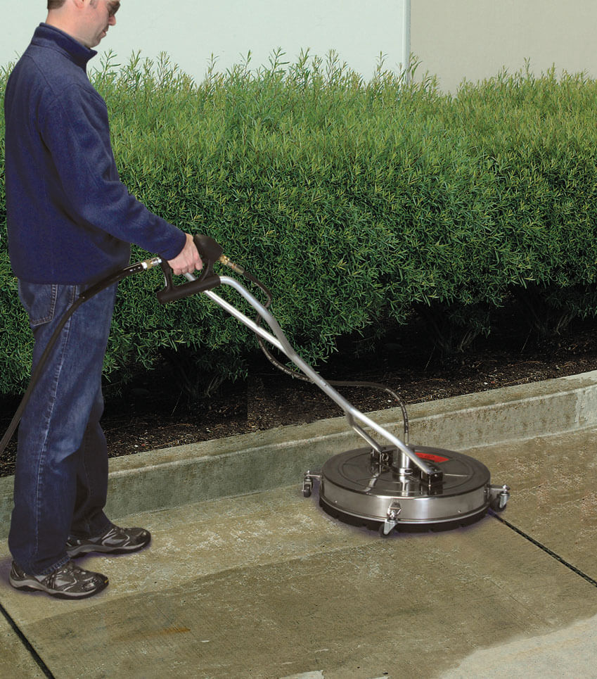 Pressure washer surface cleaners for Driveway pressure washer