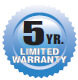 Legacy HD Pumps 5-Year Limited Warranty