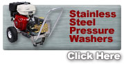 Stainless Steel Pressure Washers