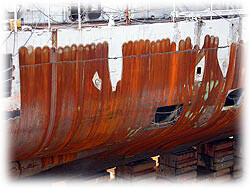 vessel paint stripping
