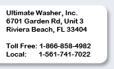 ultimatewasher contact information